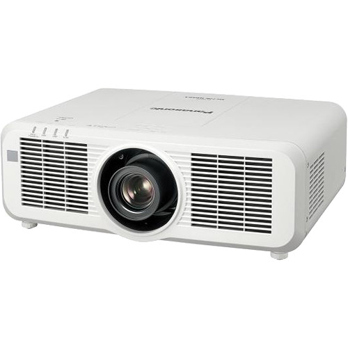 Panasonic WUXGA Large Venue 8,000 Lumens LCD Laser Projector with Lens (White)