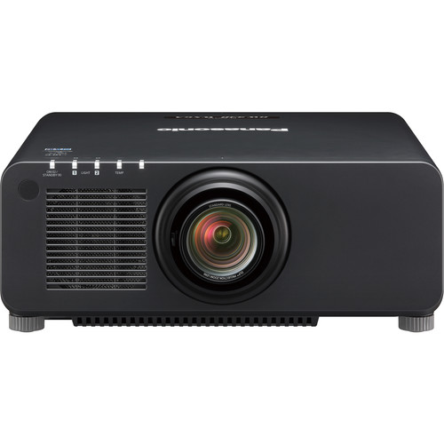 Panasonic PT-RW930 Series 10,000-Lumen WXGA DLP Projector with Standard Lens (Black)