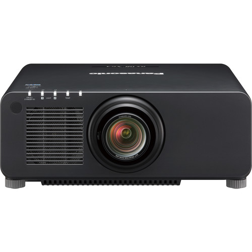 Panasonic PT-RX110 Series 10,400-Lumen XGA DLP Projector with Standard Lens (Black)