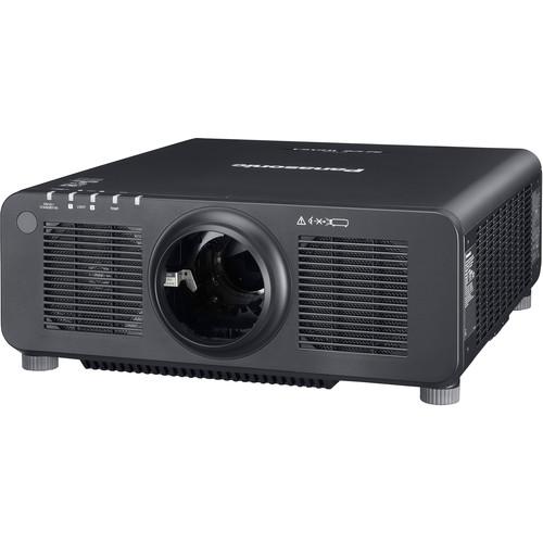 Panasonic WUXGA Resolution 12,600 Lumens Laser 1-Chip DLP Projector No Lens (Black)