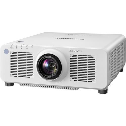 Panasonic PT-RZ120WU 12,000-Lumen WUXGA DLP Projector with 1.7 to 2.4:1 Lens(White)
