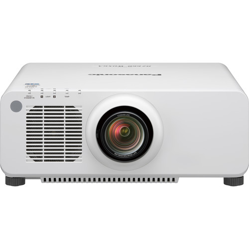 Panasonic PT-RZ660WU 6200-Lumen WUXGA DLP Projector with 1.7 to 2.4:1 Lens (White)