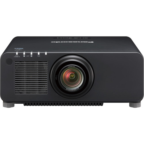 Panasonic PT-RZ770BU 7200-Lumen WUXGA DLP Projector with 1.7 to 2.4:1 Lens (Black)