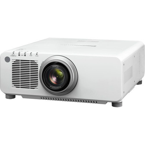 Panasonic PT-DX100UW 1-Chip 10,000-Lumen XGA DLP Projector with Lens (White)
