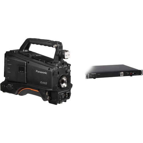 Panasonic AJ-PX380 P2 HD Camcorder (Body Only) with AG-BS300PJ Studio Base Station