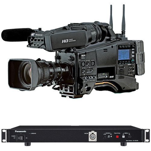 Panasonic PX380 Studio Package. 9 VF Monitor Not Included. With AJ-PX380 P2 HD Shoulder Camcorder AG-CVF