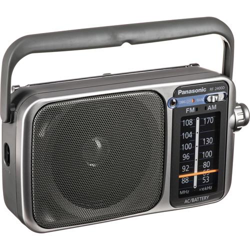 Panasonic RF-2400D Portable FM/AM Radio with AFC Tuner