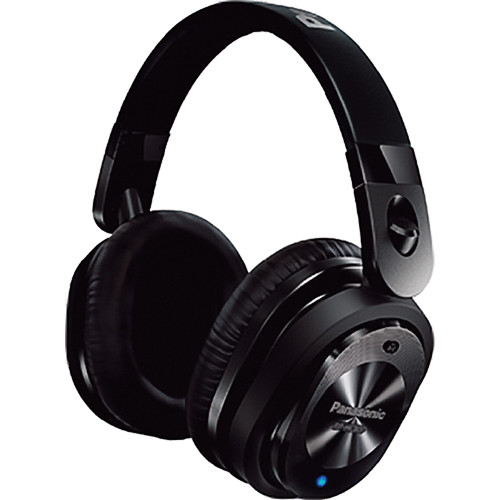 Panasonic HC800 Noise-Cancelling iOS Over-Ear Headphones (Black)