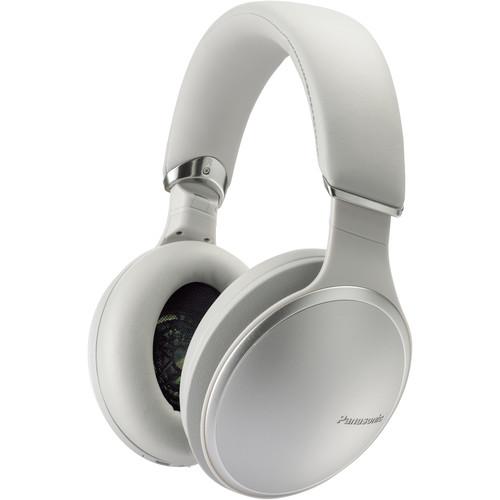 Panasonic HD805 Noise-Canceling Wireless Over-Ear Headphones (Silver)
