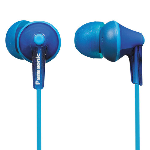Panasonic ErgoFit In-Ear Earbud Headphones (Blue)