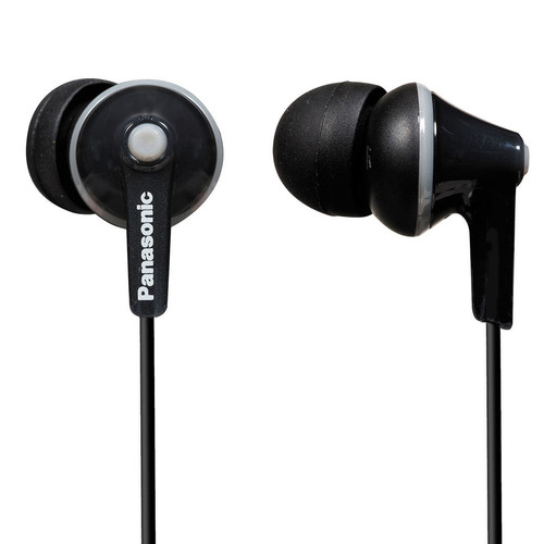 Panasonic ErgoFit In-Ear Earbud Headphones (Black)