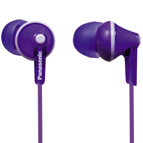 Panasonic ErgoFit In-Ear Earbud Headphones (Violet)