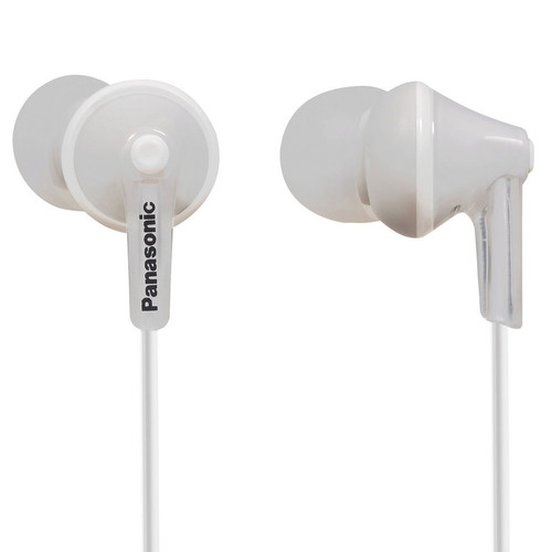Panasonic ErgoFit In-Ear Earbud Headphones (White)