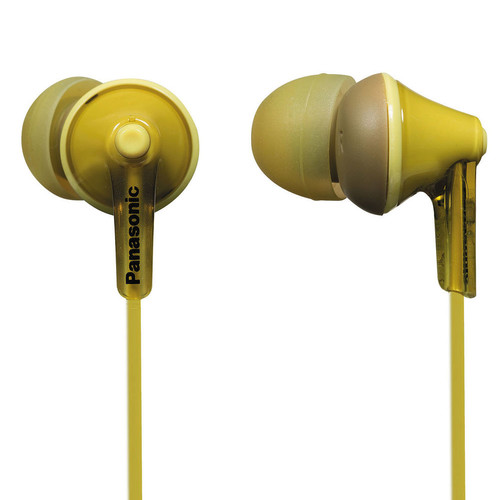 Panasonic ErgoFit In-Ear Earbud Headphones (Yellow)