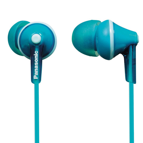 Panasonic ErgoFit In-Ear Earbud Headphones (Aquamarine)
