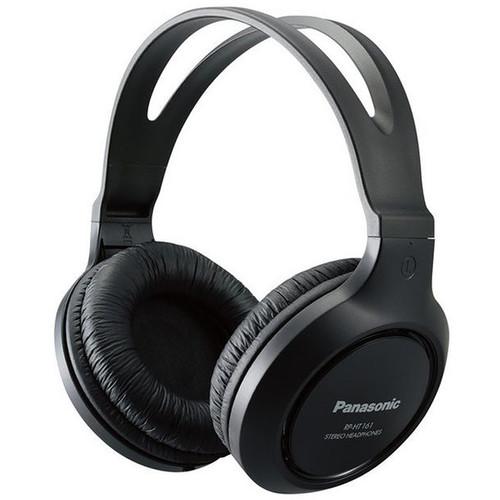 Panasonic RP-HT161-K Over-Ear Headphones (Black)