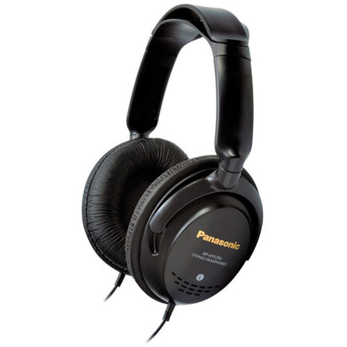 Panasonic Lightweight Over-The-Ear Monitor Headphones (Black)