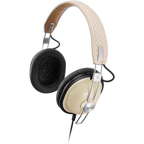 Panasonic RP-HTX7 Around-Ear Stereo Headphones (Cream)