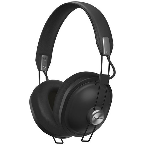 Panasonic Retro Over-Ear Wireless Headphones (Matte Black)