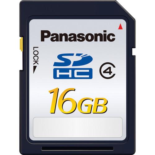 Panasonic 16GB SDHC Memory Card Class 4