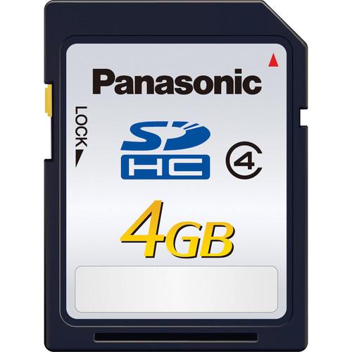 Panasonic 4GB SDHC Memory Card Class 4