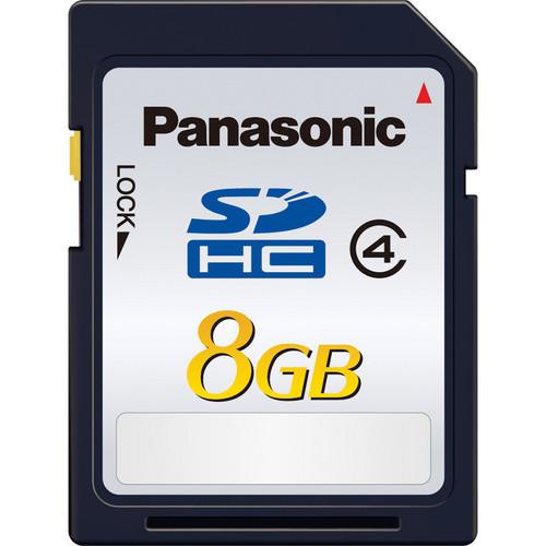Panasonic 8GB SDHC Memory Card Class 4