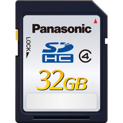 Panasonic 32GB SDHC Memory Card Class 4