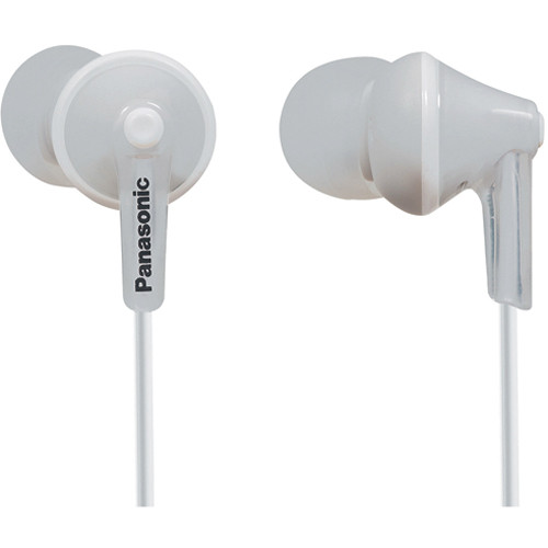 Panasonic ErgoFit In-Ear Headphones (White)