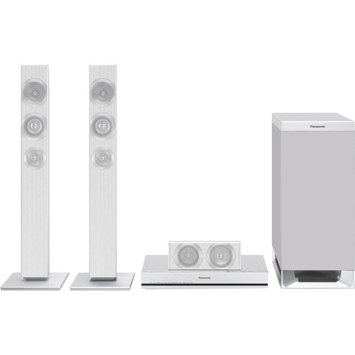 Panasonic SC-HTB770 300W Home Theater System with Subwoofer (Silver)