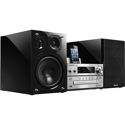 Panasonic SC-PMX9 Networkable HiFi Micro Audio 3-Way Speaker System with iPod Dock