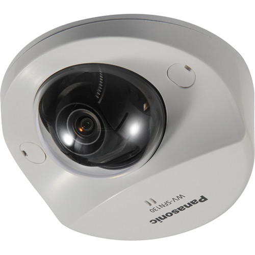 Panasonic Super Dynamic Full HD WV-SFN130 Network Dome Camera with 2.8 mm Varifocal Lens