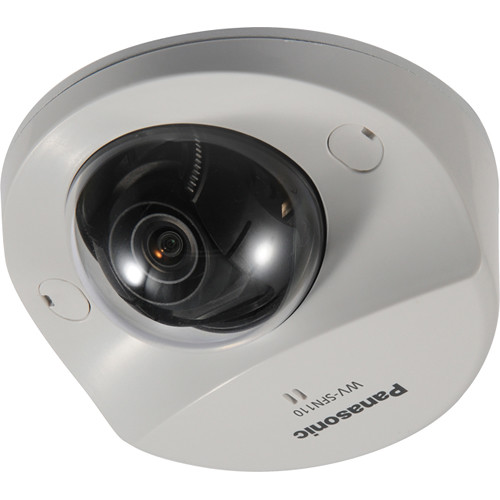 Panasonic Super Dynamic HD WV-SFN110 Day/Night Dome Network Camera with 2.8 mm Varifocal Lens