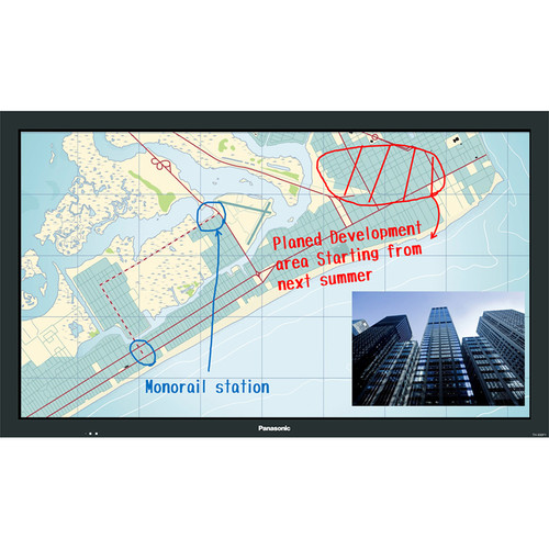 "Panasonic 50"" BF1 Series Multi-Touch Full HD Professional Display"