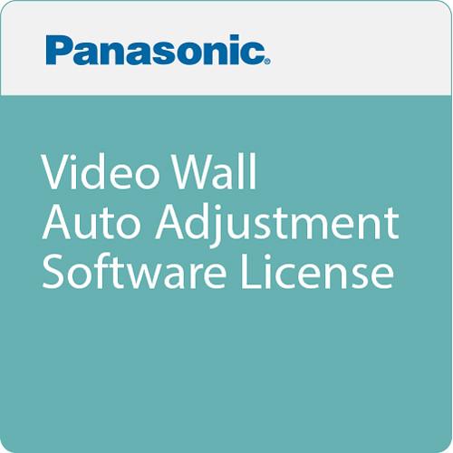 Panasonic Video Wall Auto Adjustment Software License