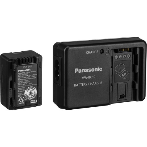 Panasonic Battery and Charger Kit for Select Camcorders