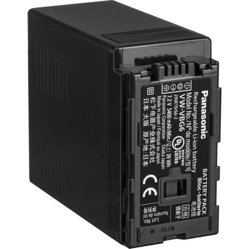 Panasonic VW-VBG6 Lithium-Ion Battery Pack (7.2V, 5400mAh)