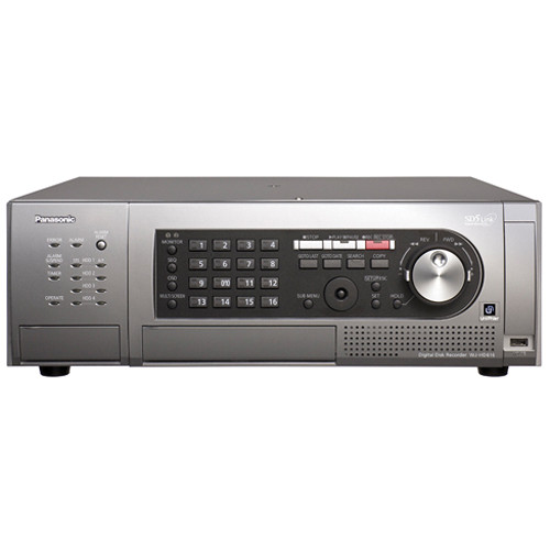 Panasonic WJ-HD616 16-Channel H.264 Digital Disk Recorder (4TB, NTSC)
