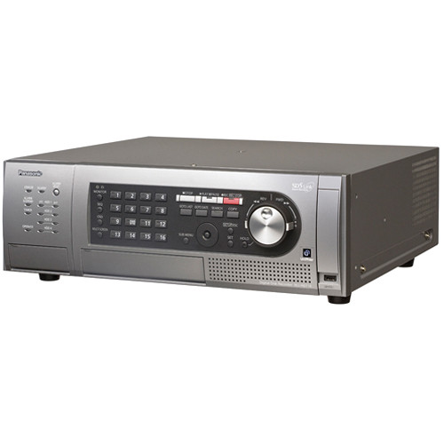 Panasonic WJ-HD716 16-Channel H.264 Real-Time Digital Disk Recorder (3TB, NTSC)