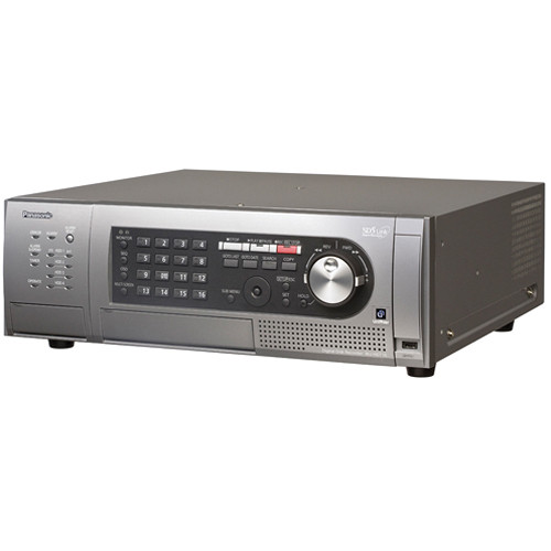 Panasonic WJ-HD716 16-Channel H.264 Real-Time Digital Disk Recorder (6TB, NTSC)