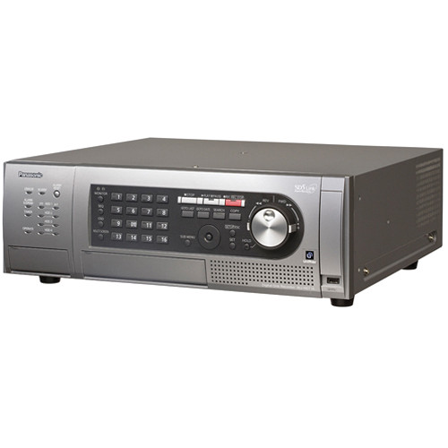 Panasonic WJ-HD716 16-Channel H.264 Real-Time Digital Disk Recorder (8TB, NTSC)