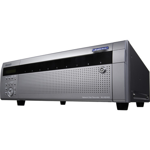 Panasonic WJ-ND400 Network Disk Recorder 4TB Capacity (4TB HDD)