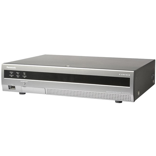 Panasonic WJ-NV300 32-Channel Network Video Recorder (NTSC, 24 Active Channels, 3TB)