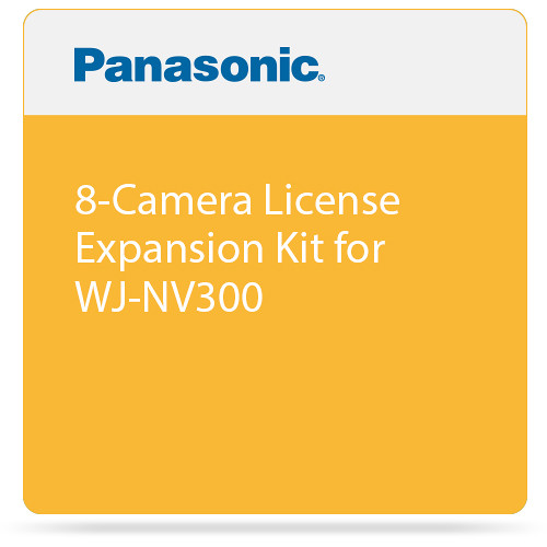 Panasonic 8-Camera License Expansion Kit for WJ-NV300