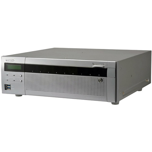 Panasonic WJ-NX400 i-Pro Extreme 64-Channel 12MP NVR with 3TB HDD