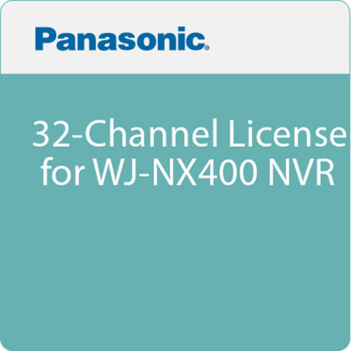 Panasonic 32-Channel License for WJ-NX400 NVR