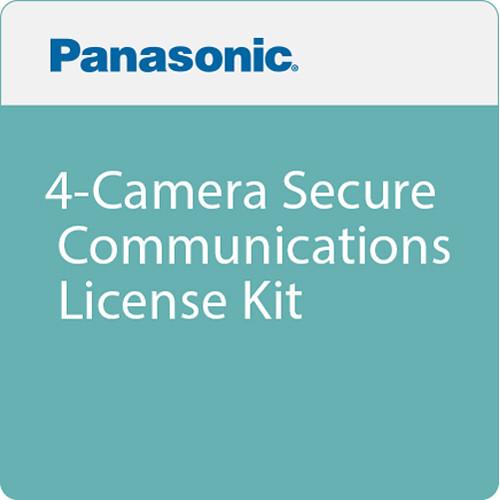 Panasonic 4-Camera Secure Communications License Kit