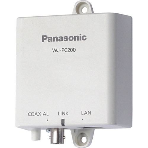 Panasonic 1-Channel BNC Video Camera to LAN Converter over CATx Cable