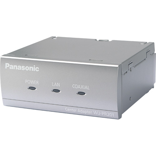 Panasonic LAN to 1-Channel BNC Video Converter Receiver over CATx Cable