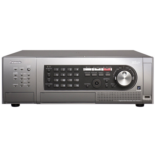 Panasonic WJ-HD616 16-Channel H.264 Digital Disk Recorder (3TB, NTSC)