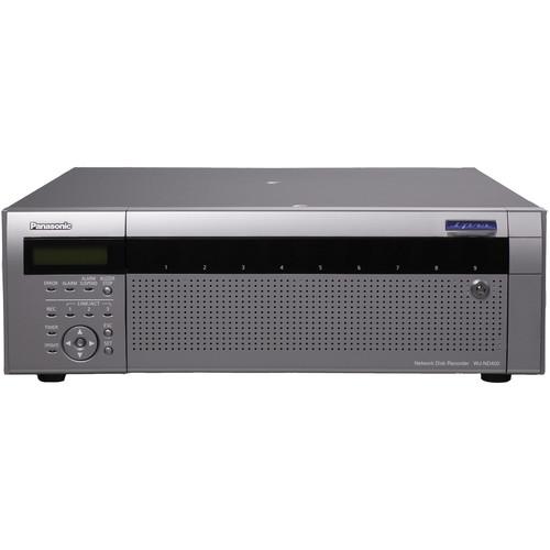 Panasonic WJ-ND400 Network Disk Recorder 36TB Capacity (2TB HDD)